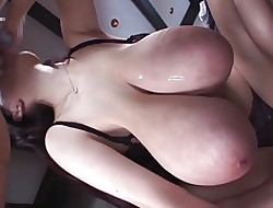 Squirting sexy movies - big bouncing boobs